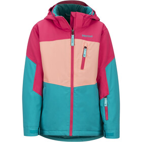 Marmot Elise Jacket Jenter blue tile/disco pink
